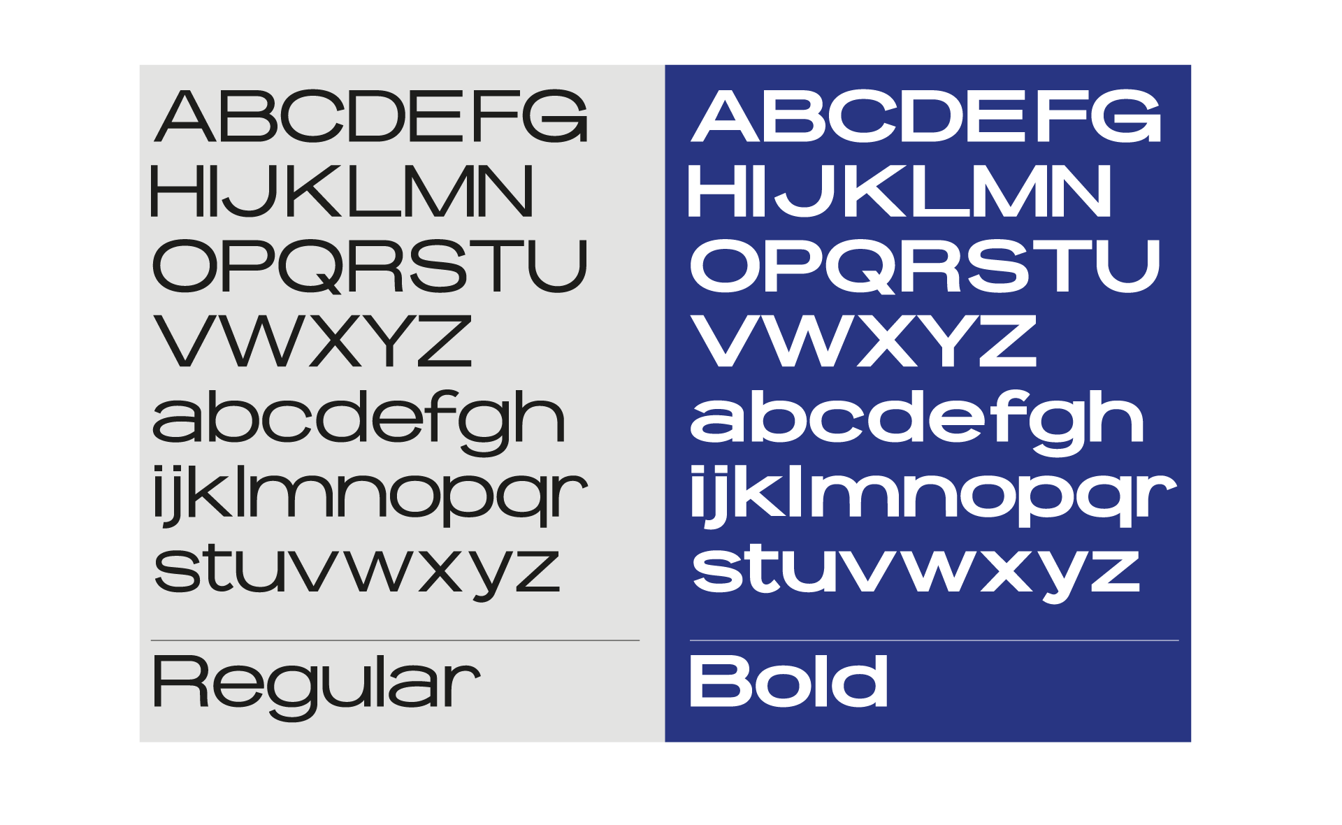 BROS IN TRIKOS Typefaces